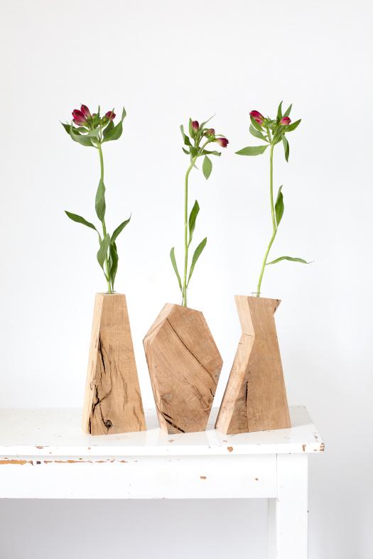 Restwood vase 01 Jonna van Hesteren